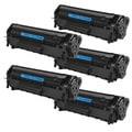 HP Q2612A (12A) Black Compatible Laser Toner Cartridge (Pack of 5)