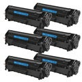 HP Q2612A (12A) Black Compatible Laser Toner Cartridge (Pack of 6)