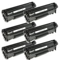 HP Q2612X (12X) Black High Yield Laser Toner Cartridge (Pack of 6)