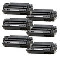 HP Q7551X (51X) High Yield Black Compatible Laser Toner Cartridge (Pack of 6)