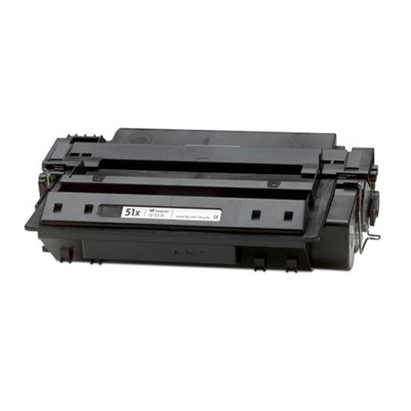 HP Q7551X (51X) High Yield Black Compatible Laser Toner Cartridge