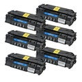 HP Q7553A (53A) Black Compatible Laser Toner Cartridge (Pack of 6)