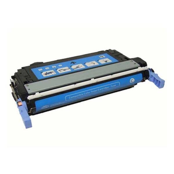 HP CB401A (642A) Cyan Compatible Laser Toner Cartridge