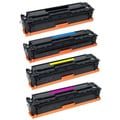 HP CE410A CE411A CE412A CE413A Compatible Black / Color Set Toner Cartridges (Pack of 4)