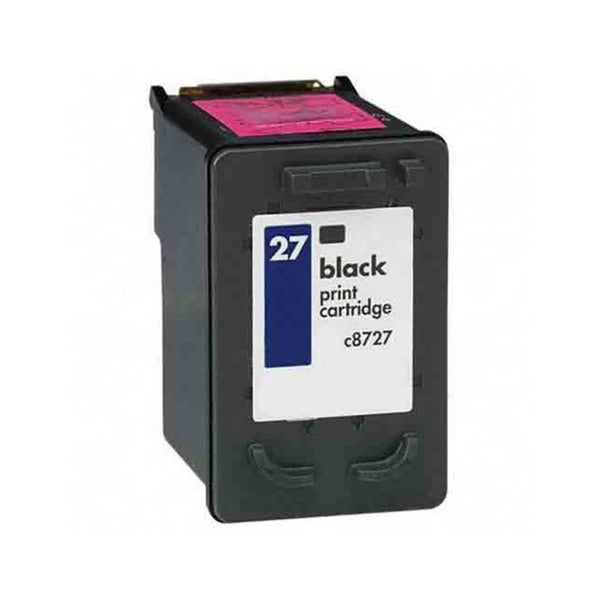 HP C8727AN (HP 27) Black Compatible Ink Cartridge