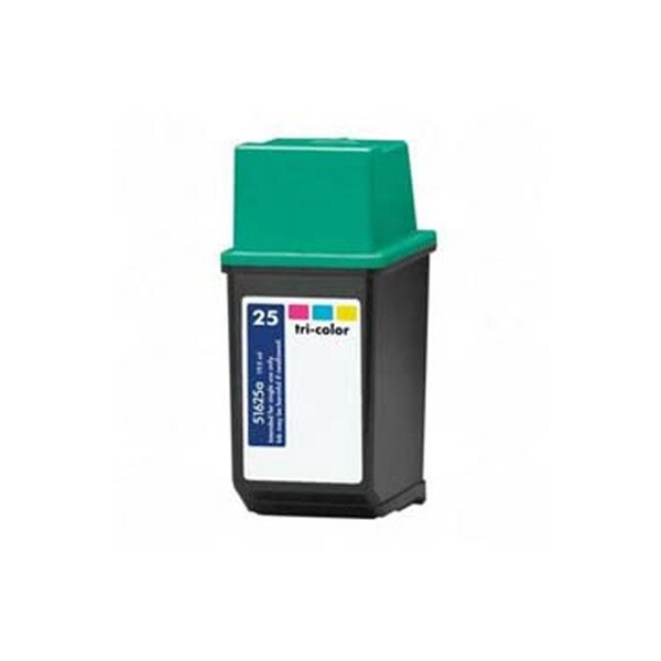 HP 51625A (HP 25) Tri-Color Compatible Ink Cartridge