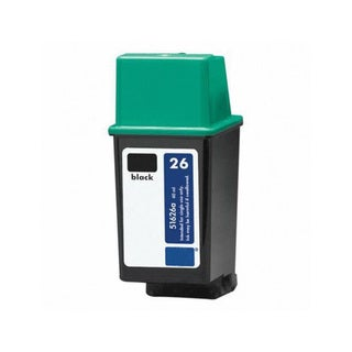 HP 51626A (HP 26) Black Compatible Ink Cartridge