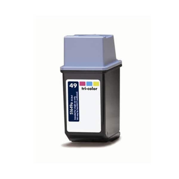 HP 51649A (HP 49) Tri-Color Compatible Ink Cartridge