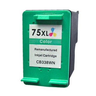 HP CB338WN (HP 75XL) Tri-Color High-Yield Compatible Ink Cartridge