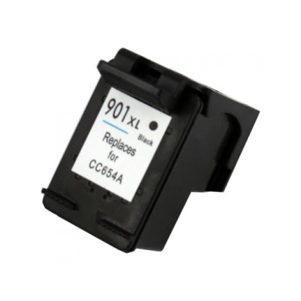 HP 901XL (CC654AN) Black High-Yield Compatible Ink Cartridge