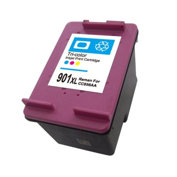 HP 901XL (CC656AN) Tri-Color High-Yield Compatible Ink Cartridge