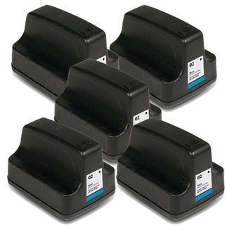 HP 02 (C8721WN) Black Ink Cartridge (Pack of 5)