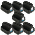 HP 02 (C8721WN) Black Ink Cartridge (Pack of 7)
