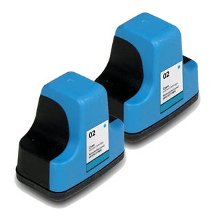 HP 02 (C8771WN) Cyan Ink Cartridge (Pack of 2)