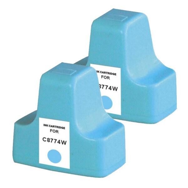 HP 02 (C8774WN) Light Cyan Ink Cartridge (PacK of 2)