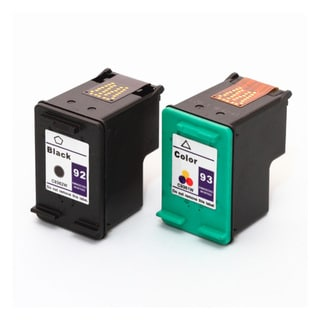 HP 92 (C9362WN) + 93 (C9361WN) Black+Color Compatible Ink Cartridge (Pack of 2)
