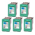 HP 97 (C9363WN) Color Compatible Ink Cartridge (Pack of 5)