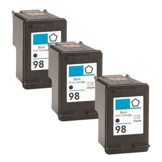 HP 98 (C9364WN) Black Compatible Ink Cartridge (Pack of 3)