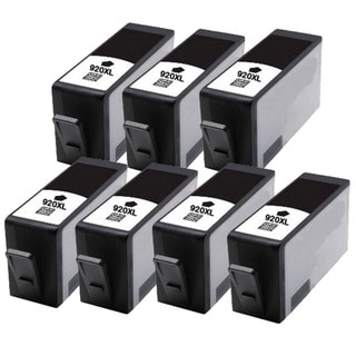 HP 920XL (CD975AN) Black Compatible Ink Cartridge (Pack of 7)