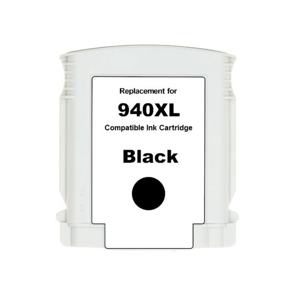 HP 940XL (C4906AN) Black High Yield Compatible Ink Cartridge