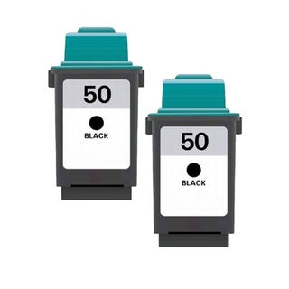 Lexmark #50 (17G0050) Black Compatible Ink Cartridge (Pack of 2)