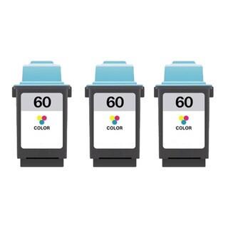 Lexmark 60 Color Compatible Ink Cartridges (Pack of 3)