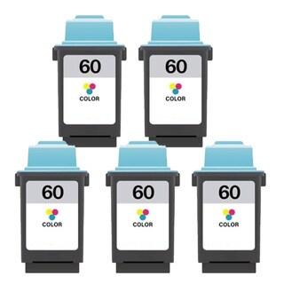 Lexmark 60 Color Compatible Ink Cartridges (Pack of 5)