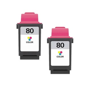 Lexmark 80 Color Compatible Ink Cartridges (Pack of 2)