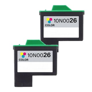 Lexmark #26 (10N0026) Color Compatible Ink Cartridge (Pack of 2)