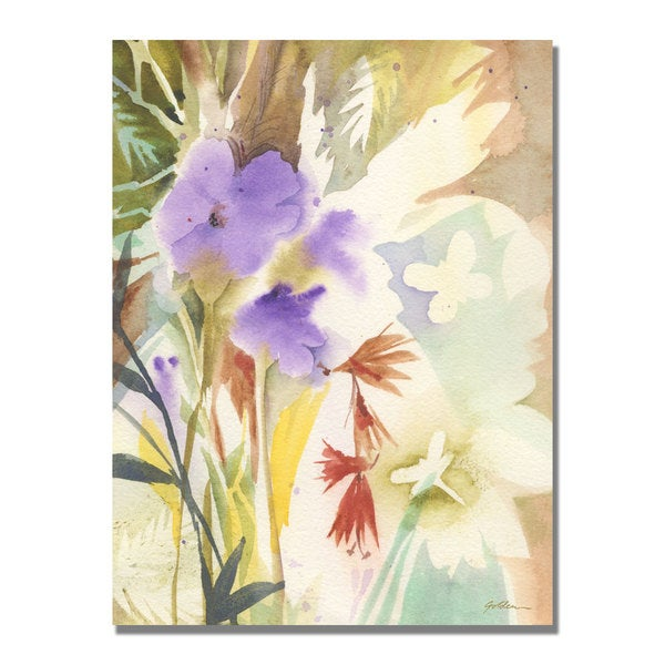 Shelia Golden 'Hymn to Nature' Canvas Art