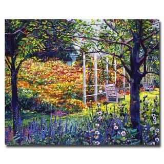 David Lloyd Glover 'Garden for Dreaming' Canvas Art