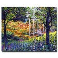 David Lloyd Glover 'Garden for Dreaming' Canvas Art