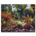 David Lloyd Glover 'Evening Roses' Canvas Art