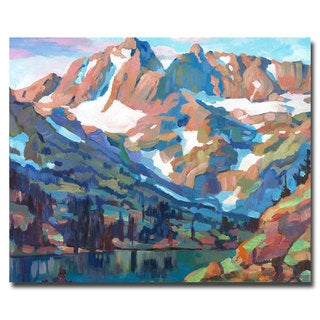 David Lloyd Glover 'Sierra Nevada Silence' Canvas Art