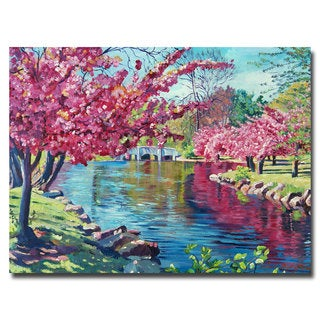 David Lloyd Glover 'Spring Soliloquy' Canvas Art