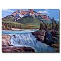 David Lloyd Glover 'Thundering River' Canvas Art