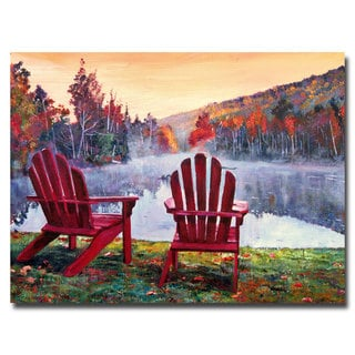 David Lloyd Glover 'Vermont Romance' Canvas Art