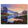 David Lloyd Glover 'Baroque Dawn' Canvas Art