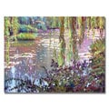 David Lloyd Glover 'Homage to Monet' Canvas Art