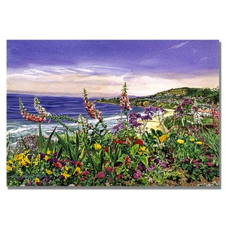 David Lloyd Glover 'Laguna Niguel Garden' Canvas Art