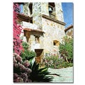 David Lloyd Glover 'Mission Carmel Bell Tower' Canvas Art