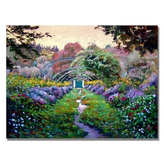 David Lloyd Glover 'Monet's Giverny' Canvas Art