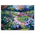 David Lloyd Glover 'Natures Garden' Canvas Art