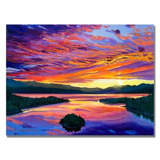 David Lloyd Glover 'Paint Brush Sky' Canvas Art