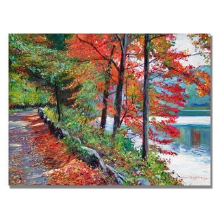 David Lloyd Glover 'Rockefeller Park' Canvas Art