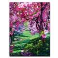 David Lloyd Glover 'Sakura Romance' Canvas Art