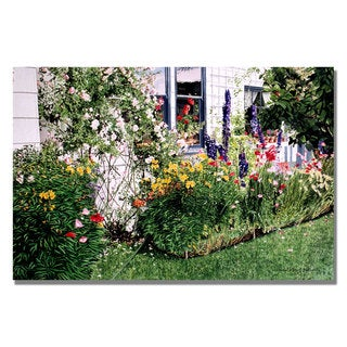 David Lloyd Glover 'The Tangled Garden' Canvas Art