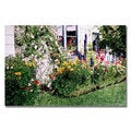 David Lloyd Glover 'The Tangled Garden' Canvas Art