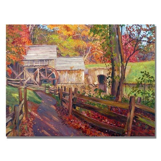 David Lloyd Glover 'Memories of Autumn' Canvas Art