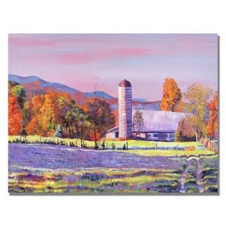 David Lloyd Glover 'Autumn Ride' Canvas Art